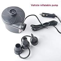 FairOnly エアポンプ インフレータ/デフレーターポンプ ポータブル 大風量 操作簡単 家庭用/車両用/アウトドア  車のエアーポンプ