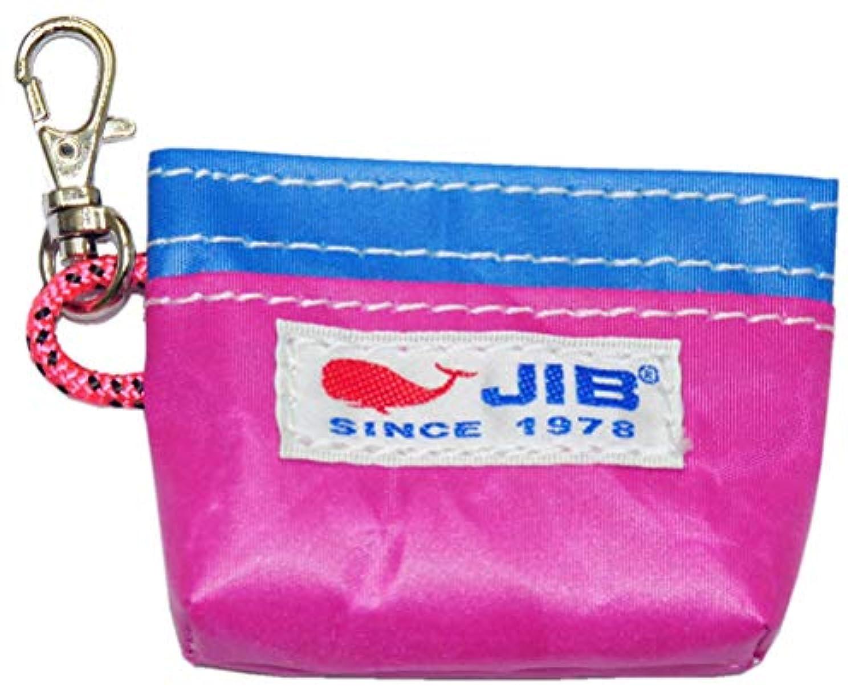 JIBコインケース ピンクブルー CC8