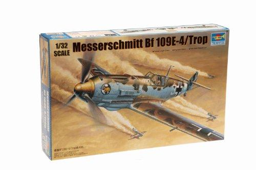 1/32 ビックスケールエアクラフトシリーズ ドイツ軍 メッサーシュミットBf109E-4/Trop