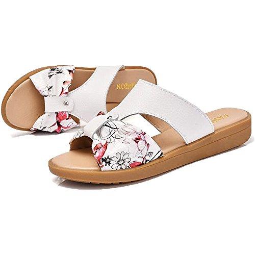 [해외]searina 샌들 여성 통굽 편안한 귀여운 세련된 꽃 무늬 나비하라고 여름 미끄럼 방지/searina sandals women`s thick bottom easy to walk cute fashionable floral butterfly summer slide