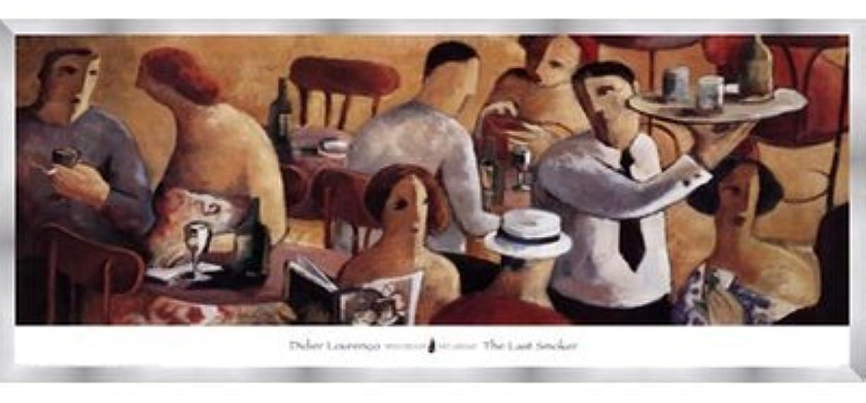 ホームレス研究盆地最後の喫煙者by Didier Lourenco – 39 x 18インチ – アートプリントポスター LE_37531-F9935-39x18
