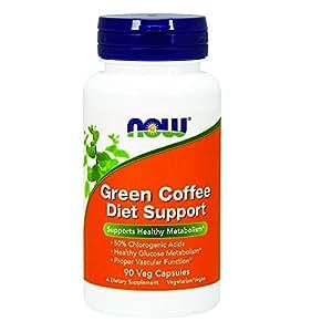 [海外直送品] ナウフーズ グリーンコーヒー ダイエットサポート(クロロゲン酸含有) 90粒