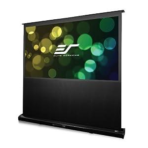 エリートスクリーン 電動プロジェクタースクリーン ケストレル 72インチ(16:9) マックスホワイトFG素材 ブラックケース FE72H