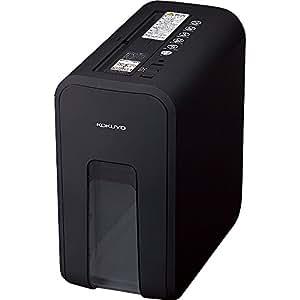 コクヨ 超静音 デスクサイドシュレッダー 最大裁断5枚 ブラック AMKPS-X80D