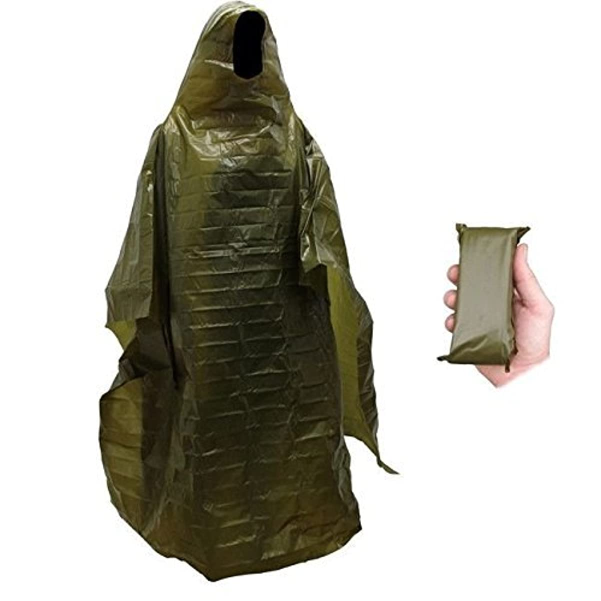 地球ヘルシー共産主義Emergency Norwegian Military Surplus Emergency Poncho Blanket by ABC Beskyttende