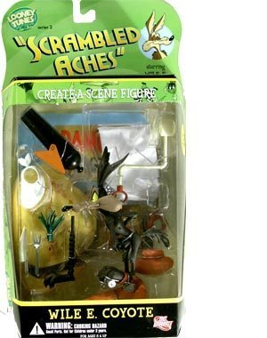 "Wile E. Coyote Looney Tunes Series 2 DC DIRECT ""Scrambled Aches"" Figure by DC Direct [병행수입품]"