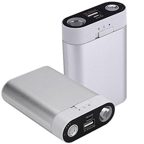電気カイロ 充電式カイロ/パワー・バンク 7800mAhモバイル電源、充電可能なモバイル電源、7800mah コンパク...