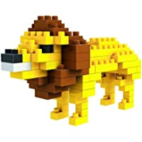 African Lion Toy Building Blocks