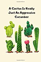 Cactus Stuff Gifts Funny Joke Notebook Fit For Man Sister Nurse Kids Girl Or Teens 120 Pages
