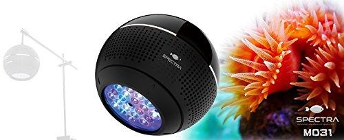 スペクトル Sanrise Spectra水族館 LED ライト 96 w 塩水照明 5 w クリー チップ アンドロイド IOS WIFI アプリ コントロール サンゴ礁海洋水槽の 18-24 インチ LED 水族館光