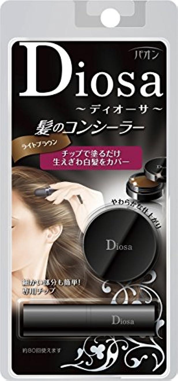 ルネッサンス模索イブパオン ディオーサ 髪のコンシーラー ライトブラウン 4g
