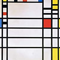 Piet Mondrianジクレープリント アート紙 アートワーク 画像 ポスター 複製(モンドリアン)