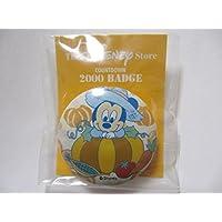 ディズニーストア 1999年 ミッキーマウス ベビー 赤ちゃん カボチャ 缶バッジ Disney Store