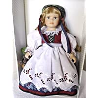 Folklore Doll - handmade by Schneider - Rhine Girl (Germany) ドール 人形 フィギュア(並行輸入)