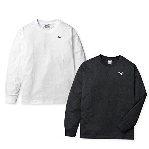 (ブラック/140cm)子供服 男の子 Tシャツ 長袖 PUMA プーマ パッケージ入り 綿100%...