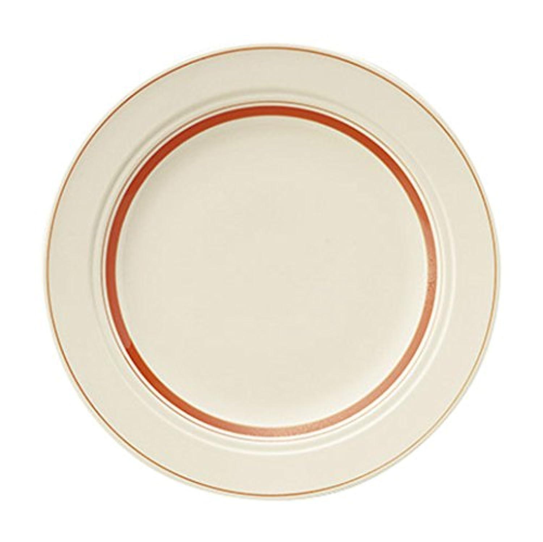 光洋陶器 カントリーサイド ディナー皿 25cm ソーバー オレンジ 13425003
