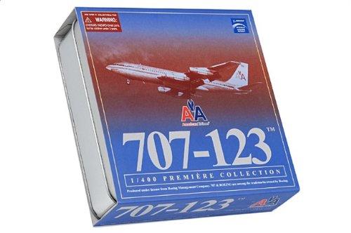 1:400 ドラゴンモデルズ 55805 ボーイング 707 ダイキャスト モデル アメリカン 航空 N7524A w/コレクターs Tin【並行輸入品】