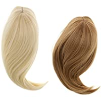 Dovewill 2個入り 18インチ アメリカ女の子人形用 ドール ウィッグ ロングヘア かつら 28cm ファッション DIY用品