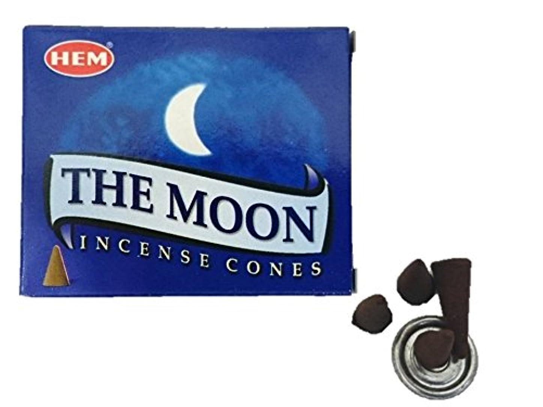 把握クマノミ伝統的HEM(ヘム)お香 ムーン コーン 1箱