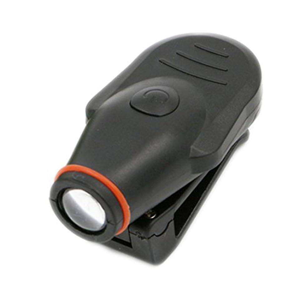 ピボット正気引退した明るい クリップオン LED キャップ 帽子ライト ヘッドランプ トーチ 釣り キャンプ ハンティング アウトドア