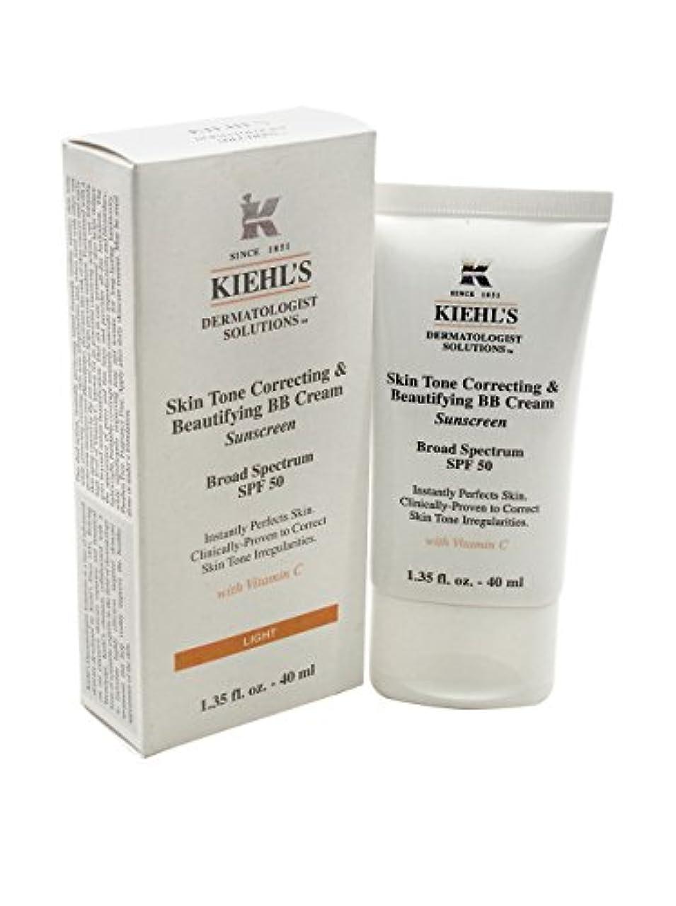 粒子租界特権キールズ Skin Tone Correcting & Beautifying BB Cream SPF 50 - # Medium 40ml/1.35oz並行輸入品