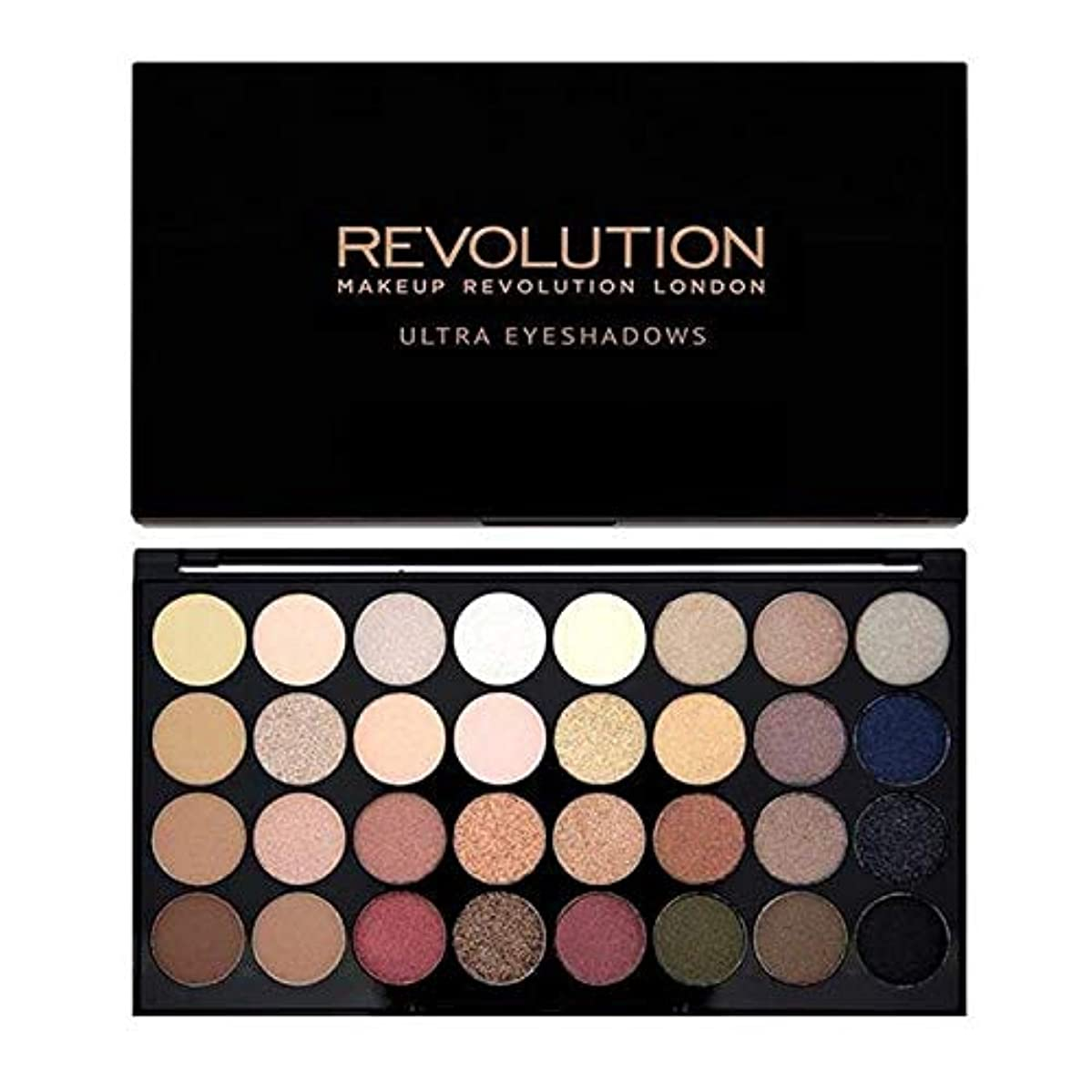 ただ地味なフルーツ[Revolution ] 革命完璧な16グラムアイシャドウパレット - Revolution Flawless 16G Eye Shadow Palette [並行輸入品]