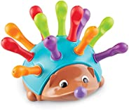 Learning Resources Spike The Fine Motor Hedgehog, Sensory, Fine Motor Toy, Ages 2+, 14 pieces