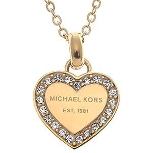 [マイケルコース] MICHAEL KORS ハート ネックレス【並行輸入品】 MKJ3969710