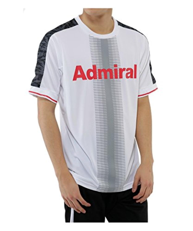 アドミラル サッカー 半袖プラクティスシャツ AD540403G001 WH M