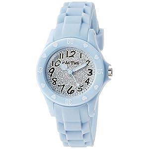[カクタス]CACTUS キッズ腕時計 ハート ラメ CAC-91-L04 ガールズ 【正規輸入品】