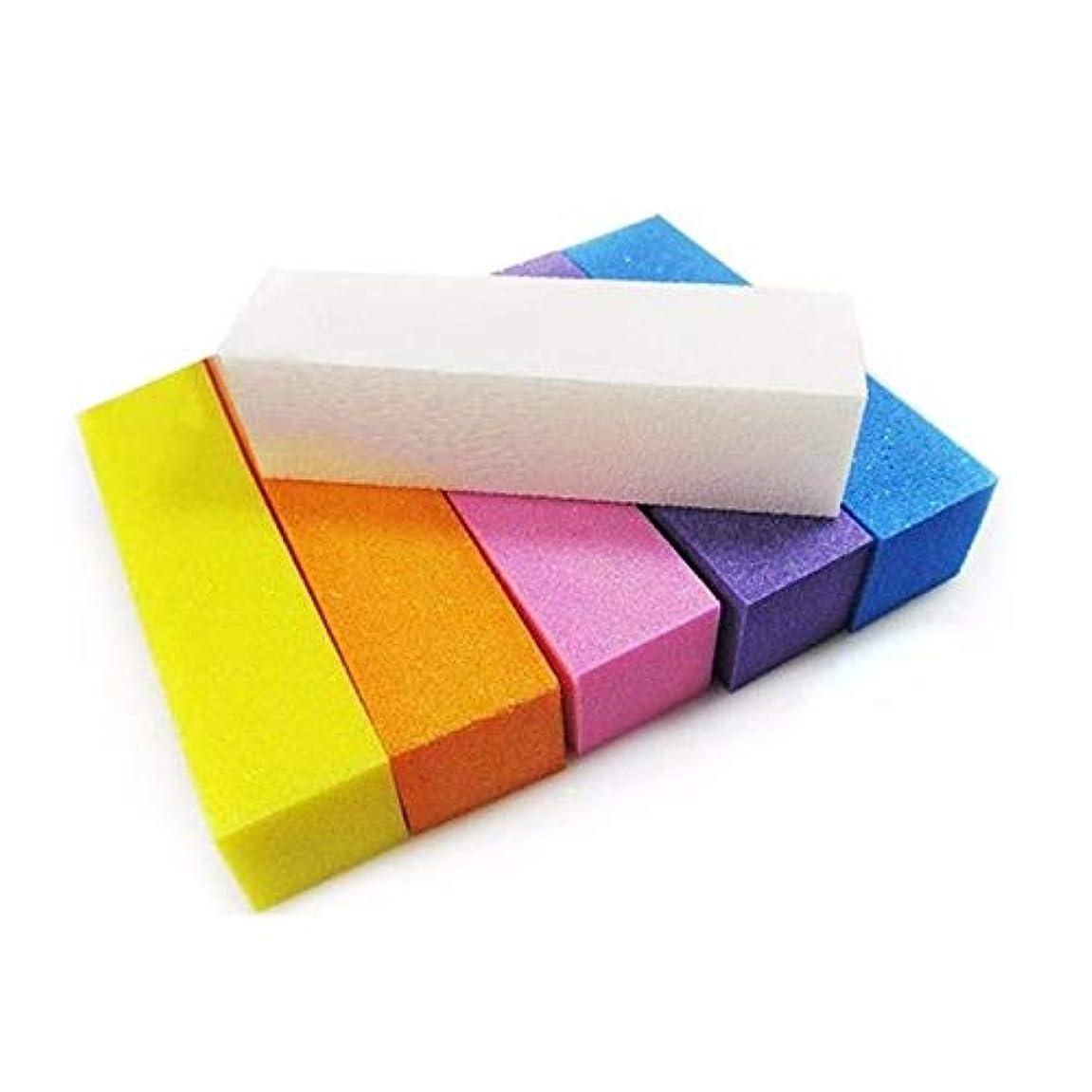 汚染された剛性寺院ネイルブロック バフ研磨 パッドブロック バフ用具 メイクツール 研磨ブロック バフ用具 マニキュアペディキュアケアツール (3個)