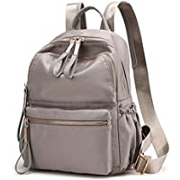 Qyoubi Women's Waterproof Oxford Small Fashion Backpack Purse School Girls Multipurpose Bag Casual Daypack