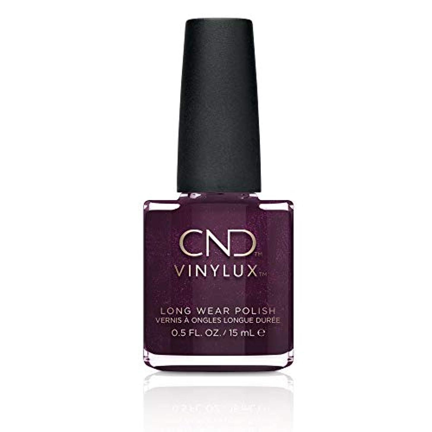 多分代数的おとなしいCND Vinylux Long Wear Nail Polish (No Lamp Required), 15 ml, Purple, Plum Paisley