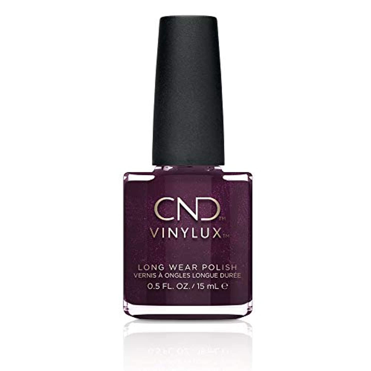 無効にするブロー然としたCND Vinylux Long Wear Nail Polish (No Lamp Required), 15 ml, Purple, Plum Paisley