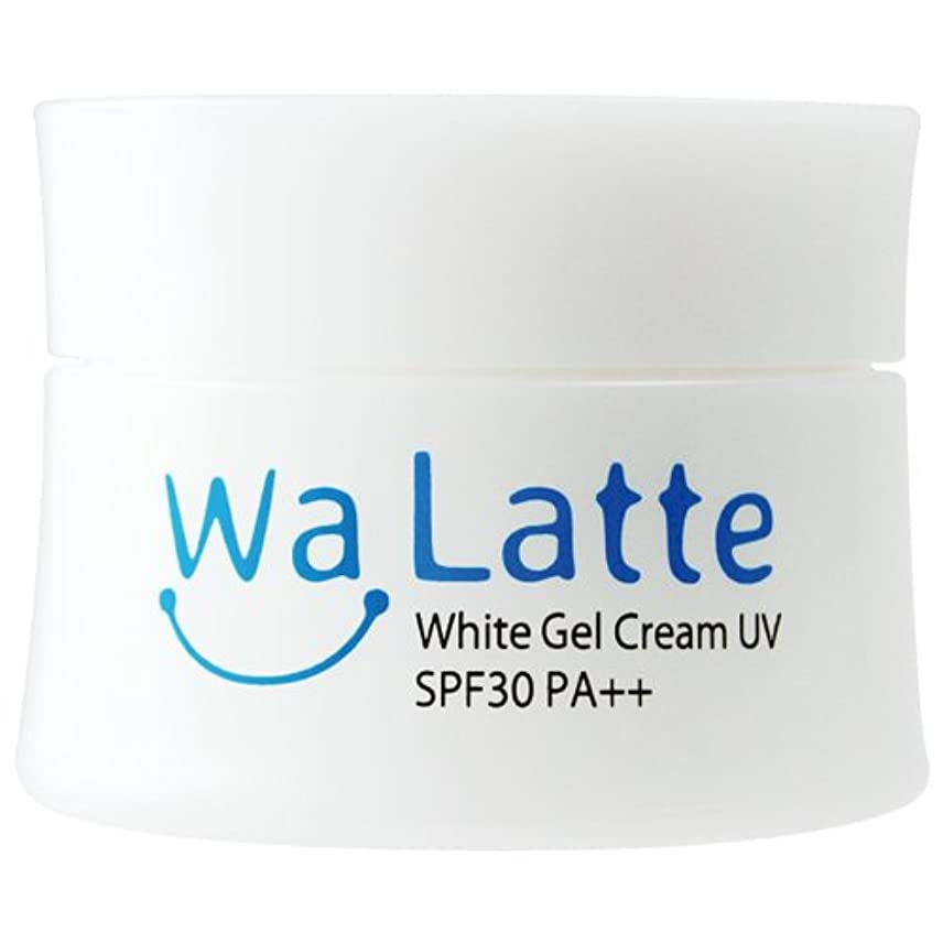 不忠差し引くテレビ(ワラッテ) WaLatte ホワイトジェルクリームUV 50g