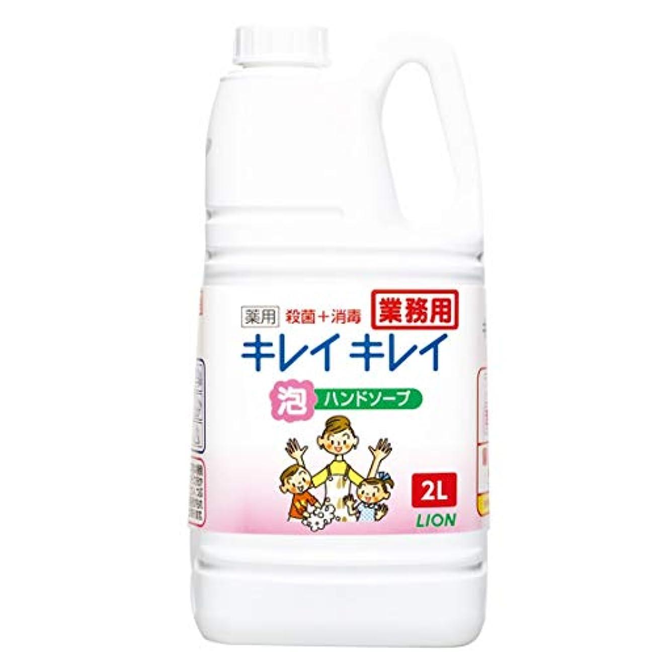 豊富速い効率【業務用 大容量】キレイキレイ 薬用 泡ハンドソープ シトラスフルーティの香り 2L(医薬部外品)