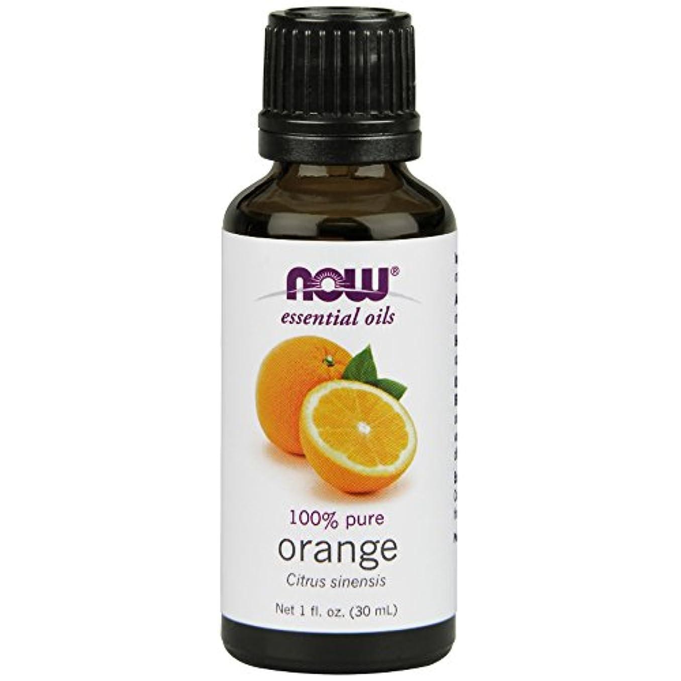 ナットゆりがっかりするNOWエッセンシャルオイル オレンジ精油 アロマオイル 30ml 【正規輸入品】