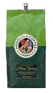 100%コナコーヒー ホノルルコーヒー 等級:エキストラファンシー 7オンス(200g) 【ハワイ島コナ産】 並行輸入品 日本未発売★豆は挽いていません。