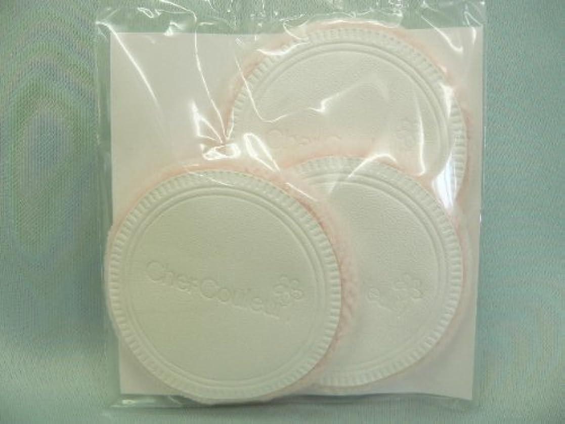 梨混沌秀でるシェルクルール化粧品プロテクトパウダー専用ケース(パフ付き)