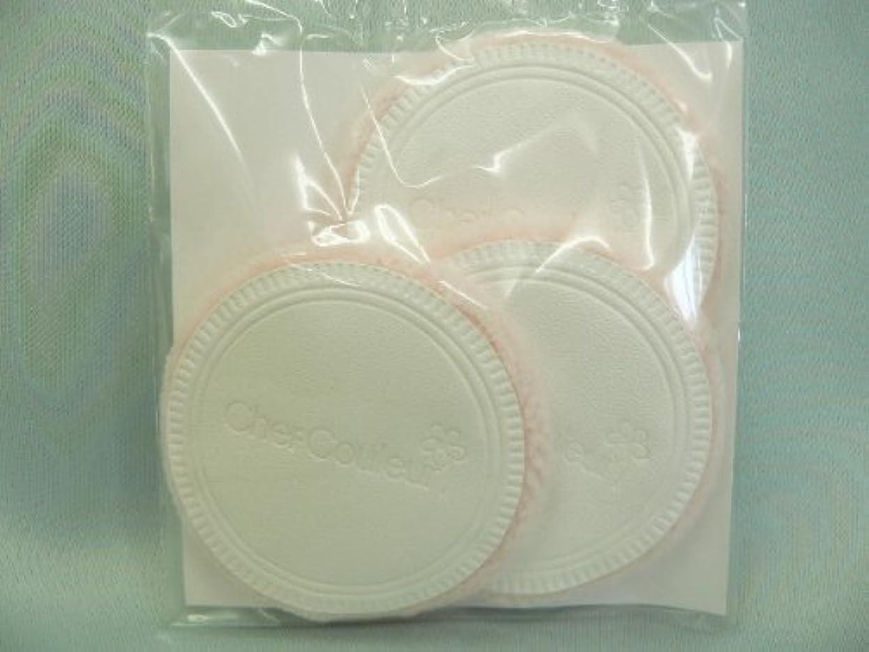 アラビア語キャスト証言するシェルクルール化粧品プロテクトパウダー専用ケース(パフ付き)