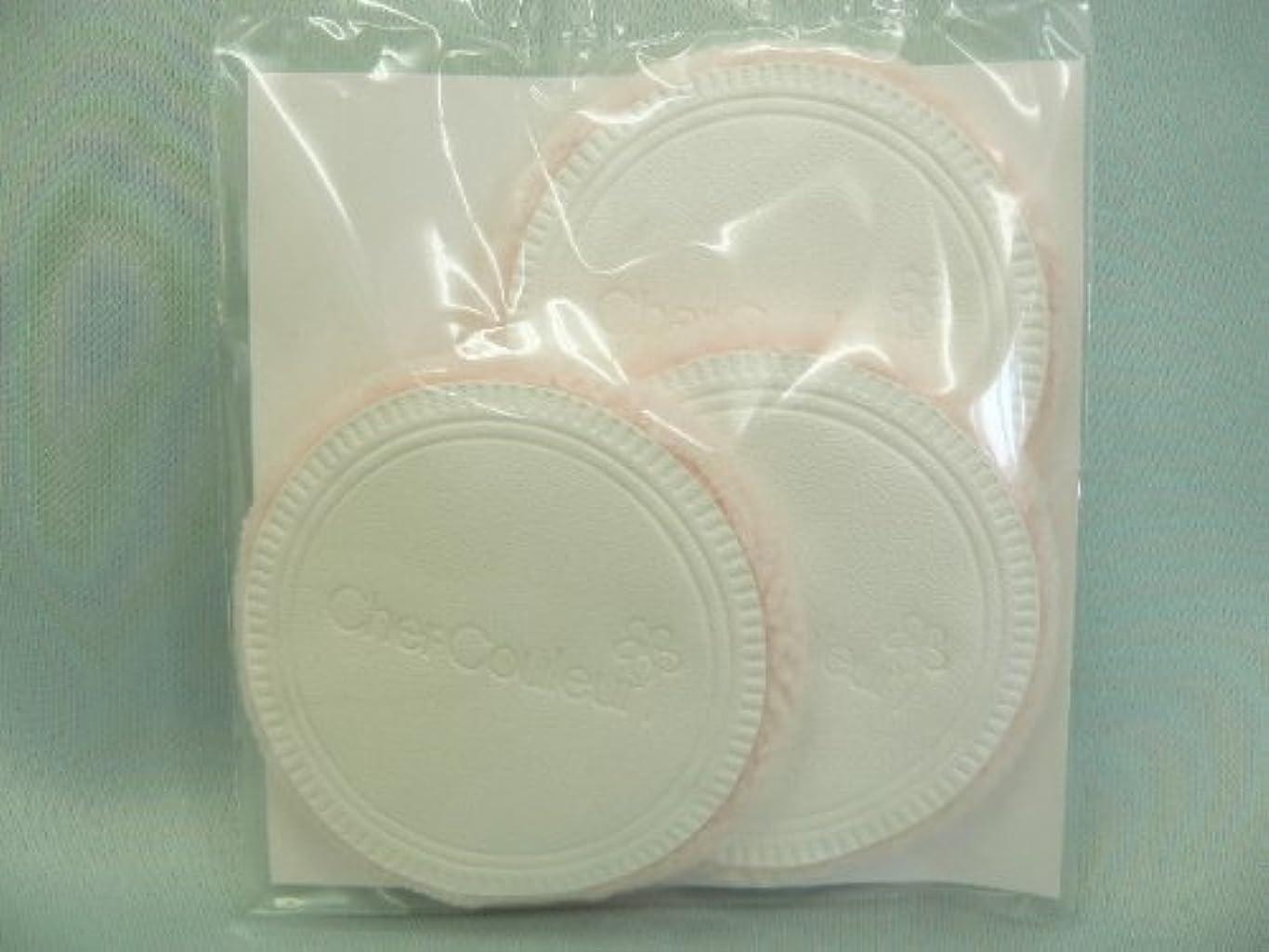 占める長さ無視シェルクルール化粧品プロテクトパウダー専用ケース(パフ付き)