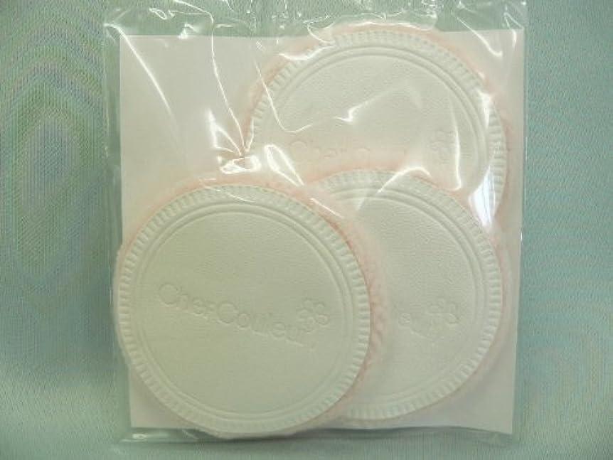 維持する合法和らげるシェルクルール化粧品プロテクトパウダー専用ケース(パフ付き)