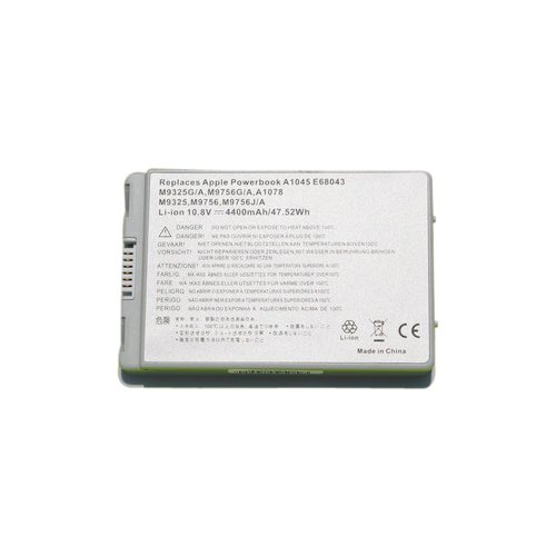 Apple アップル Powerbook G4 15インチ アルミニウム バッテリー A1045 M9325G/A M9756G/A A1078 M9325 M9756 M9756J/A対応