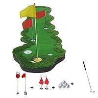 ゴルフパッティング練習 屋内用パター練習用毛布 0.7×3.6m パットをする ゲレンデ練習 中速草 B