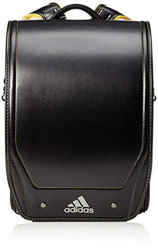[アディダス] 【公式】ランドセル A4サイズ 35617 01 ブラック×イエロー