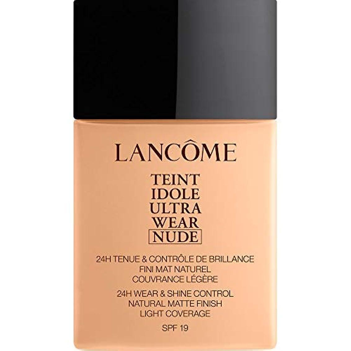 取り付けスプーン状況[Lanc?me ] ランコムTeintのIdole超摩耗ヌード財団Spf19の40ミリリットル025 - ベージュLin - Lancome Teint Idole Ultra Wear Nude Foundation...