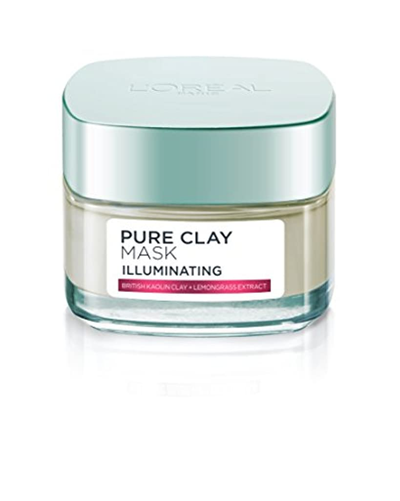 ロレアル Pure Clay Illuminating Mask 50g/1.7oz並行輸入品