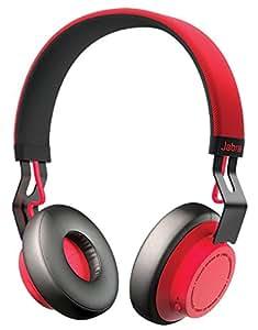 Jabra MOVE Wireless レッド ワイヤレス Bluetooth ヘッドホン (オーバーヘッド) 【日本正規代理店品】