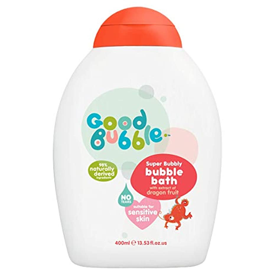 最初はジェスチャー歴史的Good Bubble - Bubble Bath - Super Bubbly with Dragon Fruit Extract - 400ml