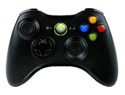 マイクロソフト ゲームコントローラー ワイヤレス/Xbox/Windows対応 ブラック Xbox 360 Wireless Controller for Windows JR9-00013